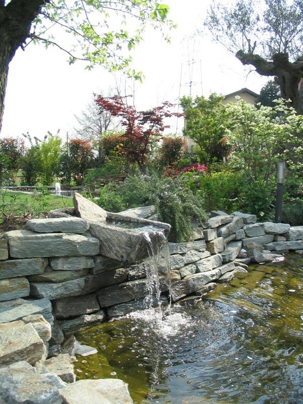 Servizi professionali di giardinaggio rivolti a clienti for Laghetti ornamentali da giardino